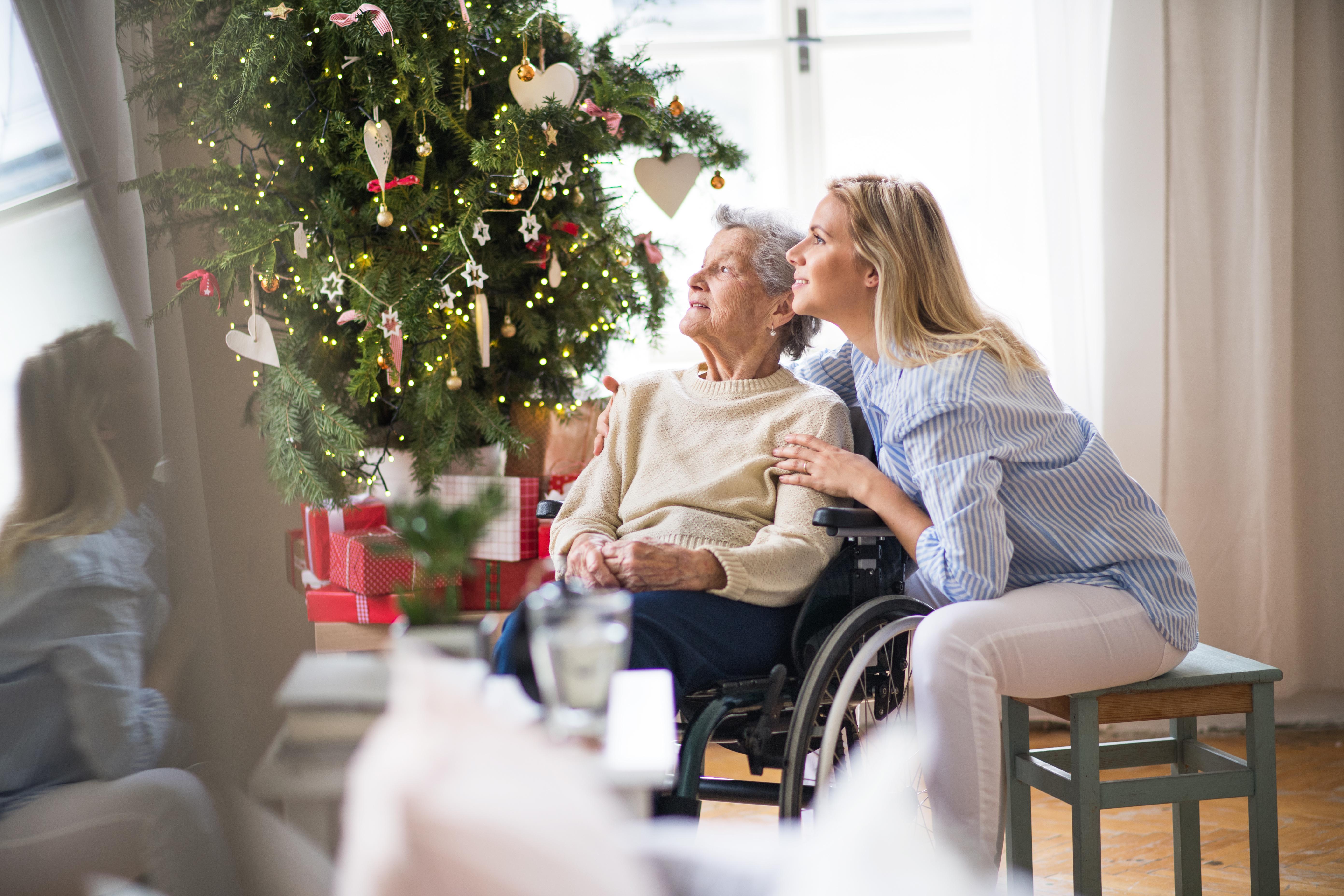 Holiday Spirits: Brightening the Holidays for Seniors
